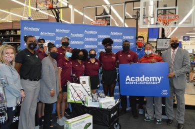 Texas Southern University Athletics, Academy Sports + Outdoors Adopts Houston Area Youth Team