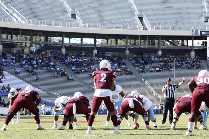 <div>Football Prepares For Start Of Historic 2021 Spring Season Saturday Night At Prairie View A&M</div>