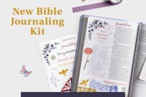 New Bible Journaling Kit at Dayspring.com.