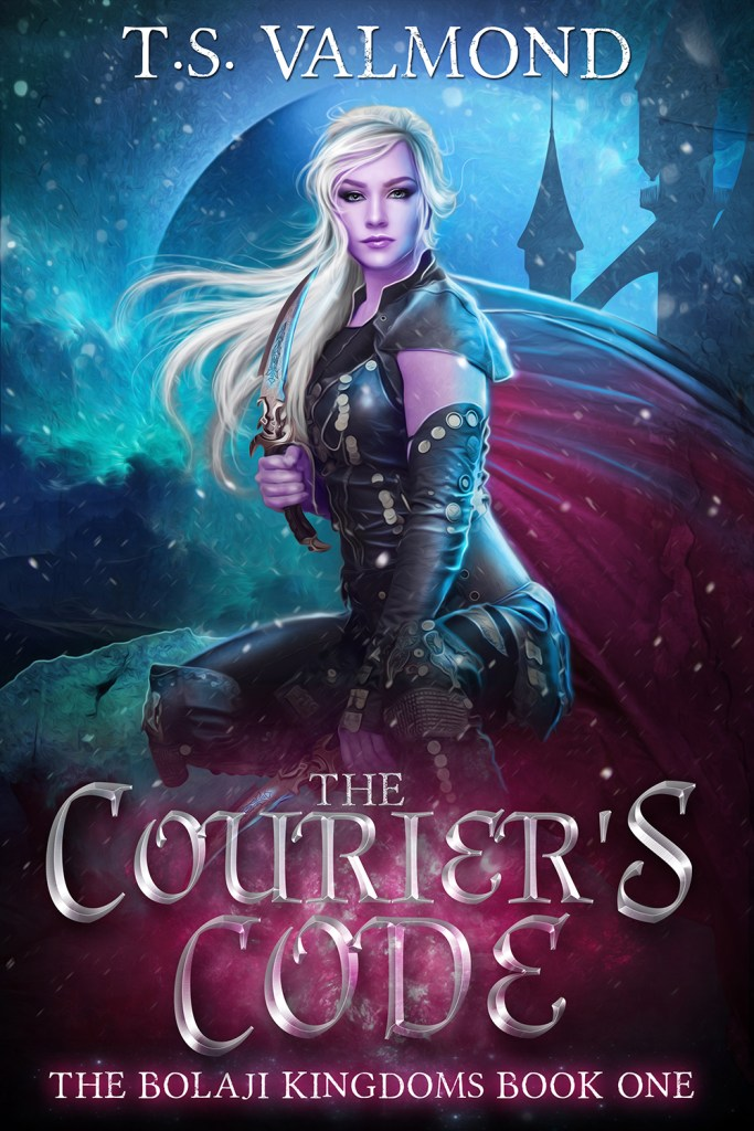 The Courier's Code by T.S. Valmond cover image