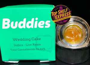 Buddies – WEDDING CAKE : Live Resin 1G