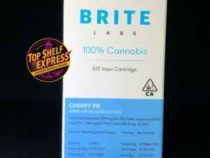 Brite Labs – CHERRY PIE : Cart .6g