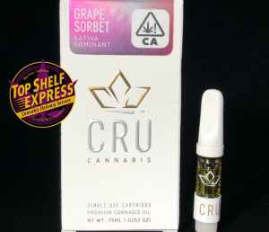 CRU – GRAPE SORBET : Cart .75ml