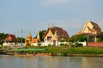 on the ayutthaya boat ride