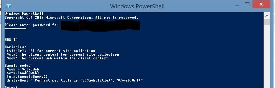 SharePoint PowerShell