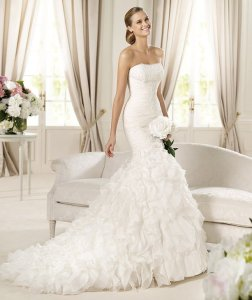 trumpet-mermaid-strapless-chapel-train-white-wedding-dress-h5pn0124-a
