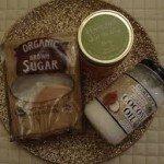 sugar and oil