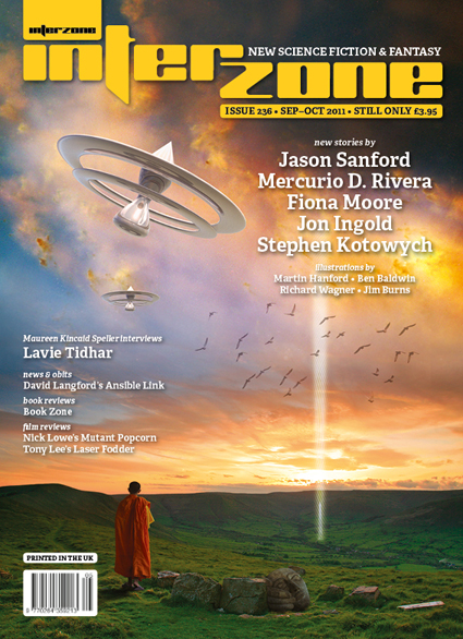 Interzone #236 cover