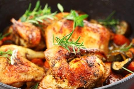 Roast Chocken & Veggies
