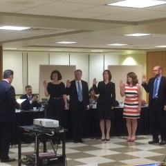 New School Board Members are Seated