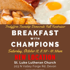 Breakfast With Champions: Two Weeks Away!