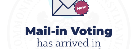 Mail-In Voting Is Here!