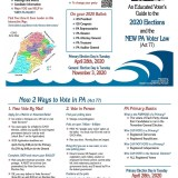Get Ready To Vote! (Handy Voter Guide)