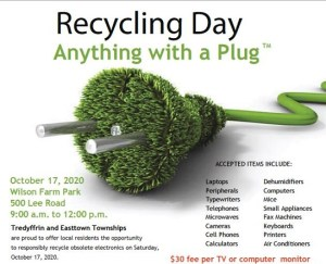 Recycling Day — Anything With a Plug @ Wilson Farm Park
