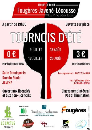 Read more about the article Tournois d'été 2021