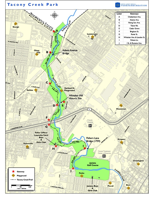 TTF welcomes the Bike Coalition to the Tacony Creek Park Trail! - TTF Watershed