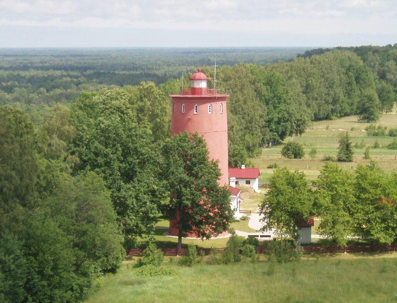 Исторический маяк Šliteres