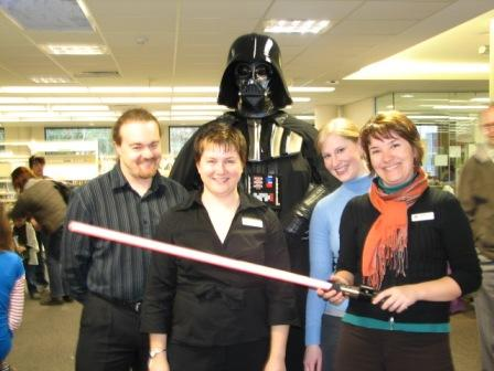 Staff with the Dark Lord
