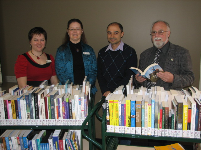 Benita, Deidre (HACC) and Councillors Barbaro and McLafferty with the Carer's Resources