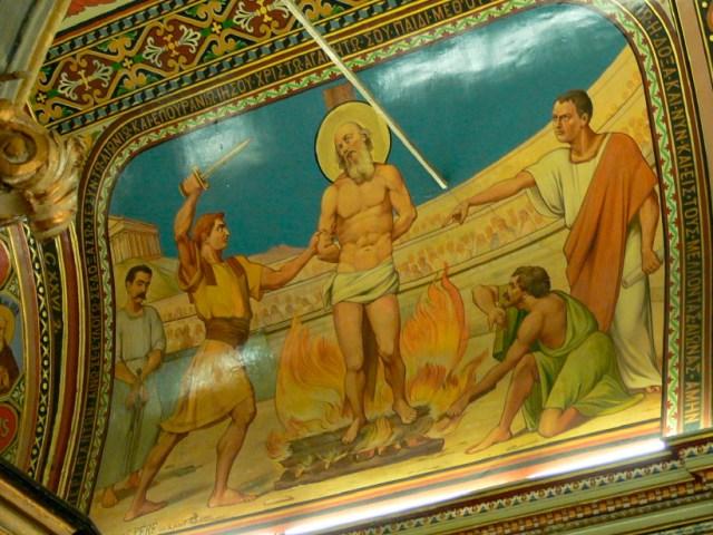 Izmir: The Martyrdon of Polycarp, Ch. of St. Polycarp