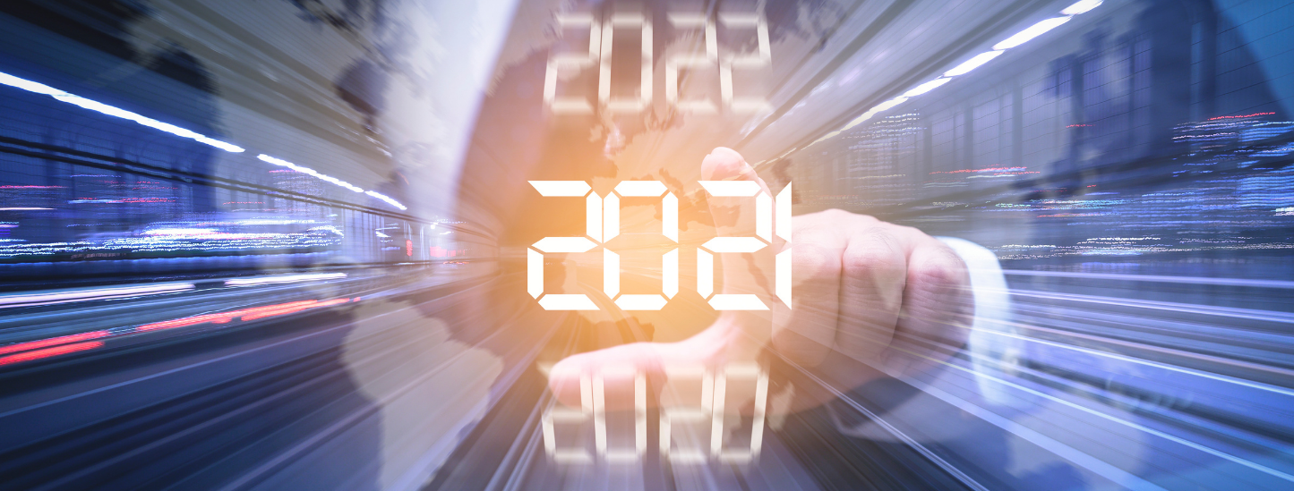 Countdown clock to 2021