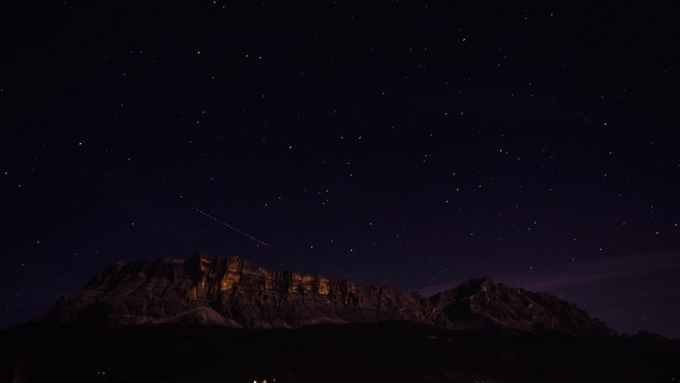 Mount Fanes at Night © Bethany Lloyd