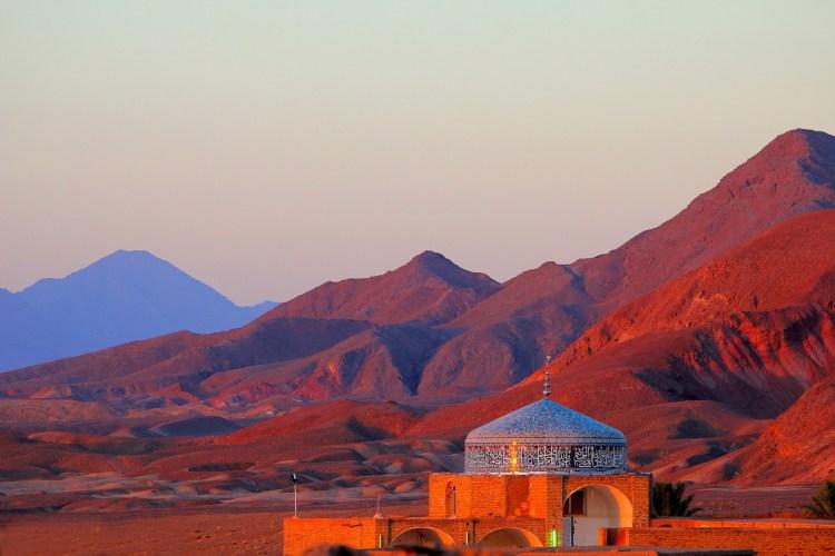 The morning, Garmeh, Iran