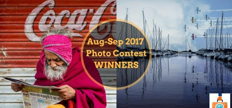 TTIM 99 – Winners of the August-September 2017 Photo Contest