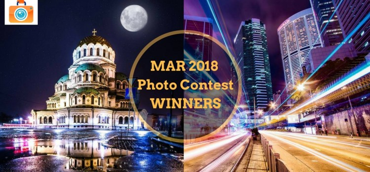 March 2018 Photo Contest Winners