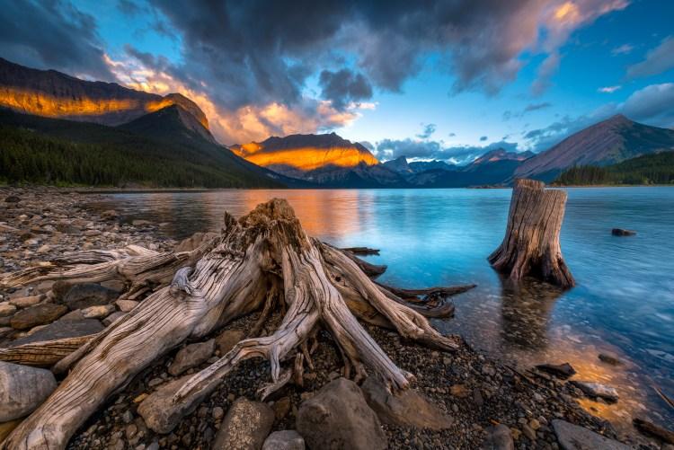 Place to unwind, Lake Kananaskis, Alberta Canada