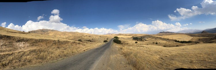 Pano of Countryside - Armenia - Copyright 2018 Ralph Velasco