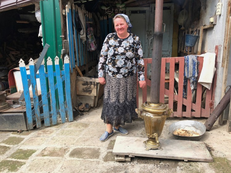 Woman with Samovar - Near Dilijan, Armenia - Copyright 2018 Ralph Velasco