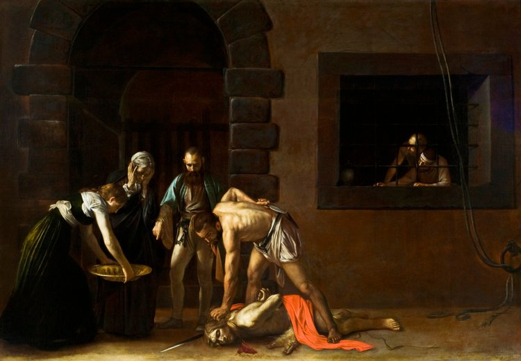 Caravaggio, The Beheading of St. John the Baptist