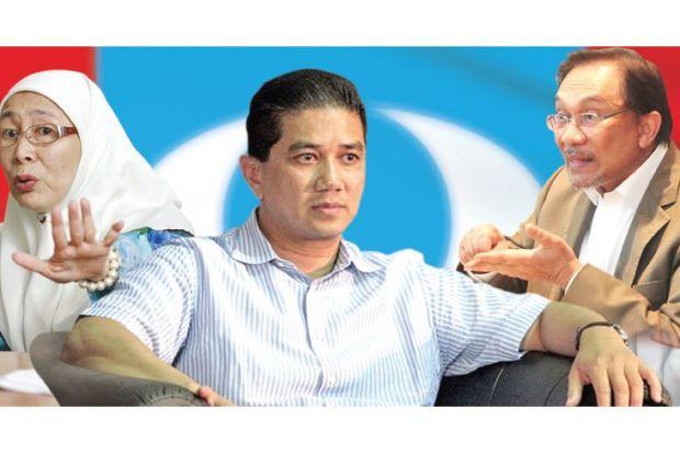 Dilema pemilihan PKR: Suami, Isteri atau Azmin jadi presiden? (Bahagian 1)