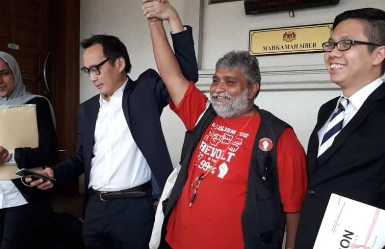 Long Due Release from Sedition Charge