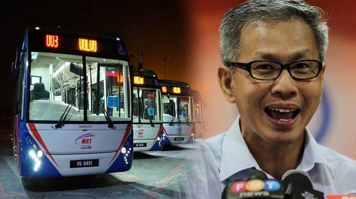 Ganti bas dengan Grab: Idea paling bodoh penjilat kerajaan.