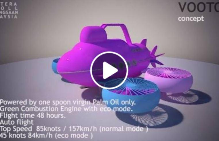(VIDEO) TTKM terbitkan 3D animasi Vootoh, pesaing 'kereta terbang' Vector.
