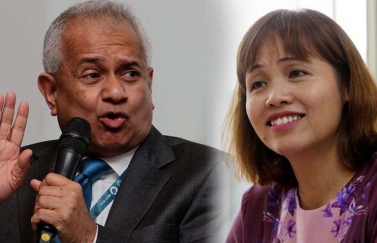 """UEC kini setaraf STPM dan A Level untuk CLP. Terima kasih AG"" – Teo Nie Ching"