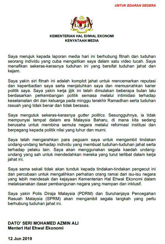 azmin statement.JPG