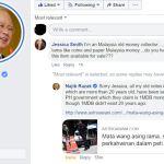 """""""Wang lama saya sudah dirampas kerajaan PH"""", jawab Najib kepada pengumpul wang lama"""