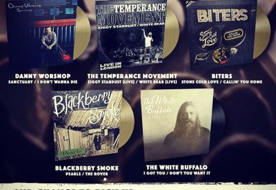 The Temperance Movement RSD's vinyl and gold Limited Edition