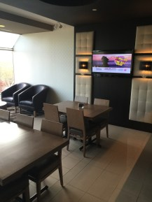 Sitting area in the lounge