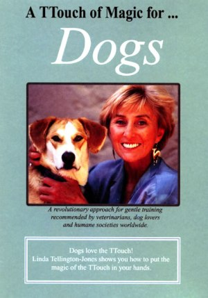 Cover of the Tellington TTouch of Magic for dogs DVD