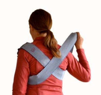 TTouch bodywrap for improvred body awareness.