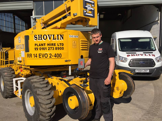 Shovlin plant hire fitter with TTP HARD drill bits - Best cobalt drill bits