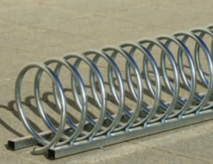 Drilling stainless steel bicycle rack 300x231 - Drilling stainless steel