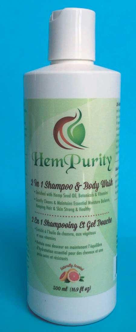 2-1 Shampoo & Body Wash - Qty. 500 ml