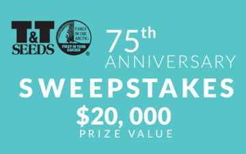 75th Anniversary Sweepstakes