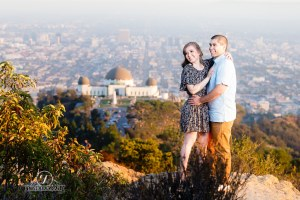 Griffith Observatory's Engagement Session
