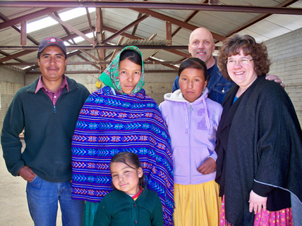Jimmy and Teresa Heisler worked in Creel, Mexico with the Raramuri tribe.